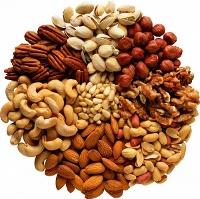 Орехи (кешью, бразильские, пекан, грецкий орех)
